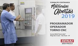 PROGRAMAÇÃO, PREPARAÇÃO E OPERAÇÃO DE TORNO CNC